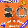 FRONT REAR Brake Pads Shoes for Yamaha XT 225 Serrow 1986-1993