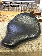 Alligator Solo Spring Motorcycle Seat Harley Chopper Bobber Rich Phillips 1200 1