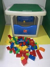 Step 2 Lego Duplo Table with Storage Step2 with 70 Play Duplo Blocks