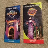 Vintage Universal Studios Florida Islands Of Adventure July 4 2005 Park Guides