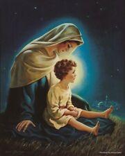 Warner Sallman SON OF GOD 20x16 Canvas Art Print Boy Jesus & Mary in Jerusalem