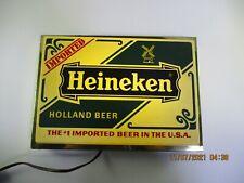 Vintage Heineken Lighted Sign