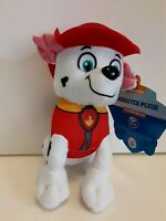 """Nickelodeon Paw Patrol Marshall 7"""" Plush Soft Toy New with Tags Kids Gift"""