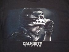 Call of Duty Ghosts COD Video Game FPS Shooter Infinity Ward Black T Shirt L