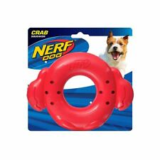 """NEW! Nerf Dog Crab Ring 7"""" Super Soaker Interactive Water Play Dog Puppy Toy"""