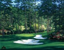 """5""""x7"""" Augusta National golf print of 10th hole at Augusta MASTERS free shipping"""