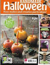 Handmade Halloween Magazine Easy Costumes Party Invitations Decorations Fun Food
