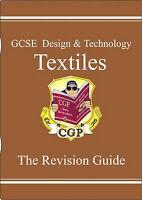 Very Good, GCSE Design &Technology Textiles Revision Guide, CGP Books, Book