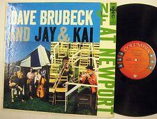 Dave Brubeck Y Jay & Kai At NEWPORT LP