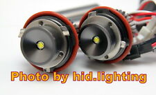 BMW CREE 10W 20W LED Angel Eye Halo ring Light White E39 E60 E61 E87 short lamp