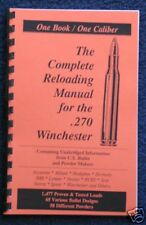 .270 Winchester Reloading Manual LOADBOOKS USA Great 270 Latest Edition NEW