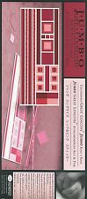 Creative Memories JUMBO GREAT LENGTHS - RED & PINK STICKERS