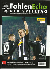 Borussia Mönchengladbach:Fohlenecho -der Spieltag:Augsburg 2:0 + Presse + VJ+PR