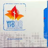2008 WORLD YOUTH DAY Coin on Card