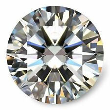 Natural Diamond VVS1 Clarity  D Color Certified  Round Brilliant Cut 0.34 Ct.