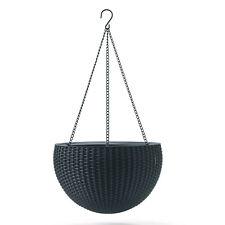 Hangende bloempot Keter Sphere Planter Moderne vorm hangpot