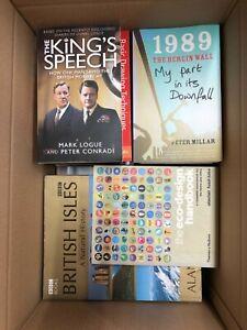 JOBLOT/WHOLESALE BOX 25-40 Non-Fiction BOOKS Bundle - Just Under 15kg