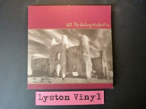 """U2 - The Unforgettable Fire 12"""" Vinyl LP"""