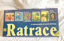 VINTAGE ORIGINAL RATRACE BOARD GAME 1970 COMPLETE WADDINGTONS GREAT SHAPE RARE
