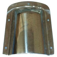CQUIP 10-21330 Large Stainless Steel Boat Clam Shell Vent - 140mm x 115mm x 52mm