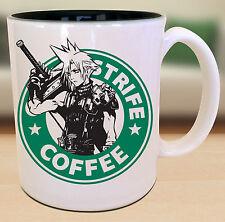 Cloud Strife Final Fantasy Starbucks Anime Manga Japanese Insipred  Nerd Mug