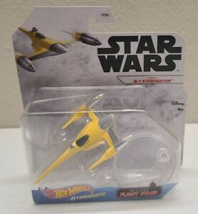 Hot Wheels Star Wars Starships: NABOO N-1 STARFIGHTER Diecast NEW