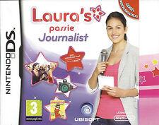 LAURA'S PASSIE - JOURNALIST voor Nintendo DS NDS - met doosje en handleiding