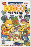 Bongo Comics [FCBD] #nn (May 2015) Free For All [The Simpsons] Chabot, Kazaleh A
