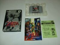 ZELDA Ocarina Of Time Boxed with Manual Nintendo 64 N64 NTSC-J Japan import