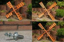 Aile pour Moulin à Vent Girouette Von 67-100cm, en Option avec Billes,