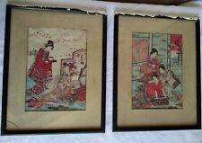 Anciennes Estampes Japonaises - signées