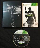 Call Of Duty Modern Warfare 3 Steelbook — Complete! (Microsoft Xbox 360, 2011)