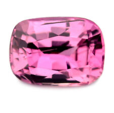 Certified Natural 0.58ct Unheated Pink Sapphire VVS Clarity Madagascar Cushion