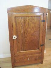 Vintage Mission Oak Arts & Crafts Cabinet