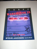 GURPS: Warehouse 23: Things THEY Don't Want You to Have (New)