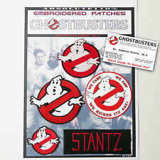 """GHOSTBUSTERS """"STANTZ"""" Team Patches - Iron-On Patch Mega Set #024 - FREE POST"""