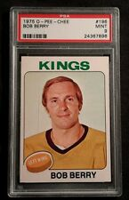1975 75-76 OPC Bob Berry  (196) L.A. Kings Pop 9 Only 1 Higher
