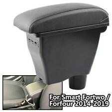 Console For Smart Fortwo 2016 2017 USB Storage Box Center Arm Rest Forfour 453