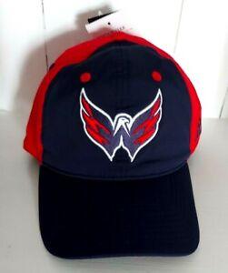 Washington Capitals Hat Adidas Size Large / XL Coaches Flex Fit Cap NHL