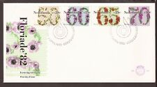 Netherlands 1982, FDC. Flowers
