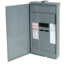 Square-D 100-Amp 24-Circuit-Space Outdoor Home Main-Breaker Panel Box Load Q0