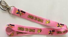 MOBILE PHONE/IDENTITY CARD LANYARD NECK STRAP THE SIMPSONS PINK