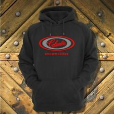Columbia Snowmobile style hoodie with vintage style logo
