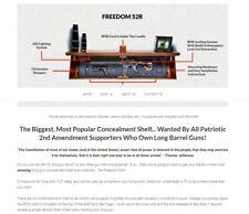 Tactical Traps - Model : Freedom 52R - A shelf unit with hidden lockable storage