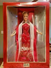 Barbie Doll Barbie 2000 Collector Edition NRFB NIB 27409 w/ CofA - Christmas/Red