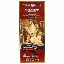 4x Surya Henna Cream High Performance Healthy Hair Color for Grey Coverage Care