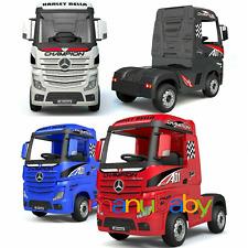 MERCEDES ACTROS: camion elettrico per bambini 12V con radiocomando - vari colori