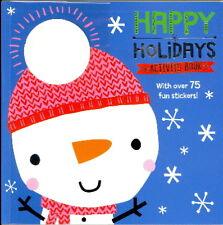 Happy Holidays Activity Book