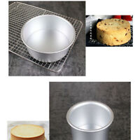 6/8/10inch Round Cake Pan Removable Pudding Mold DIY Home Baking Tools Novelty