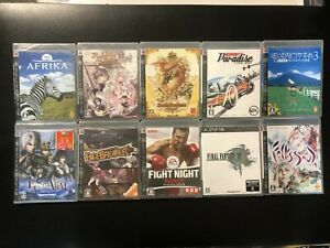 "Sony Playstation 3 PS3 games ""NEW sealed"" YOU PICK & choose all Japan Version"